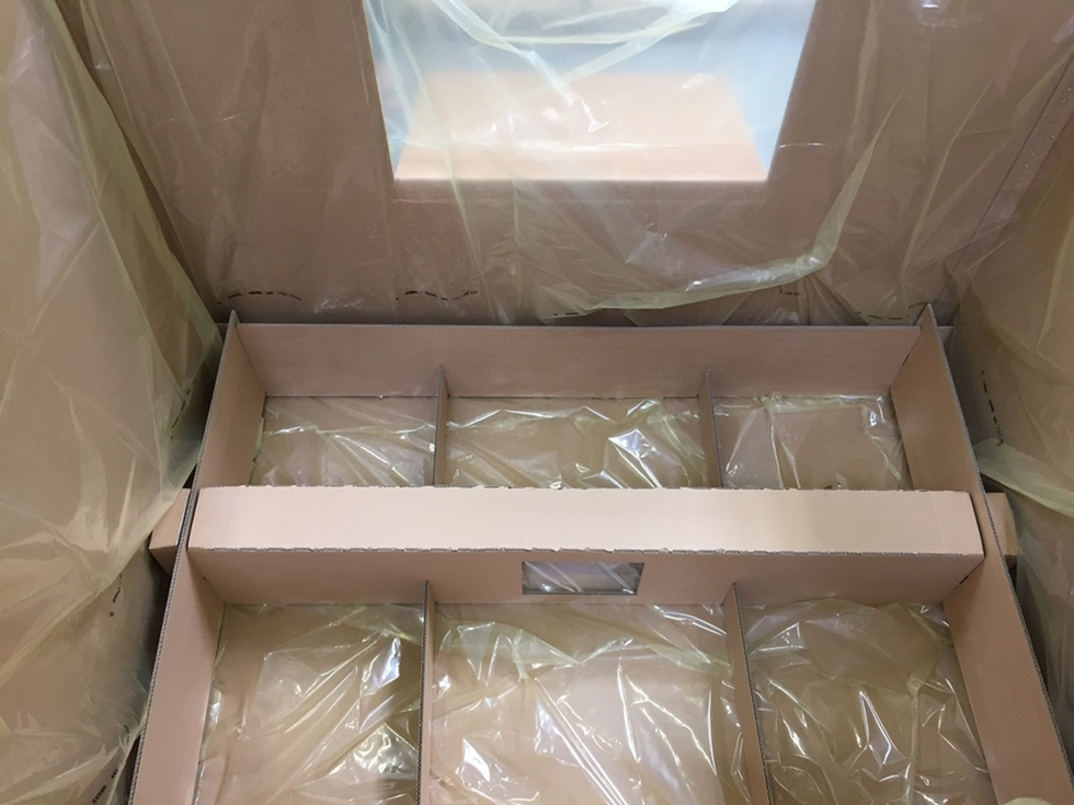 corrugated cardboard dividers - PAS-Group